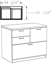 Freestanding Box/Box/File/Lateral File