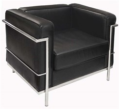Modern Classic Leather Club Chair