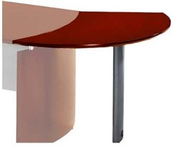 Left Curve Desk Extension