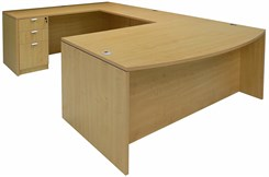 Maple Conference U-Shaped Workstation