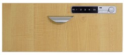 Optional Maple Drawer Front with Digital Lock