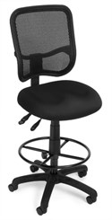 "Mesh ComfortTask Stool w/ 23""-27"" or 27""-31"" Seat Height"