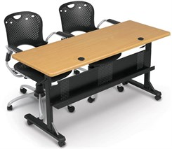 "Modular Flip-Top Training Tables -60""W x 24""D Training Table-See Other Sizes"