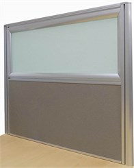 "30""W x 24""H Desk Mounted Privacy Panel"