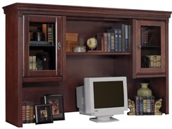 Cherry Overhead Storage Hutch