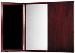 Presentation Board w/Magnetic White Dry Erase Board
