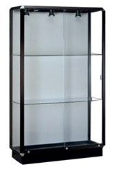 Prominence Full Size Display Case with Built-In Lighting