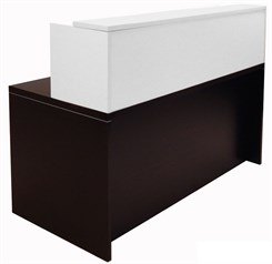 "66""x30"" Reception Desk"