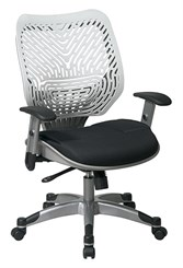 Revv Ergonomic Flex Back Chair in Ice/Raven