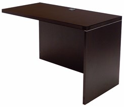 Mocha Reversible Desk Return