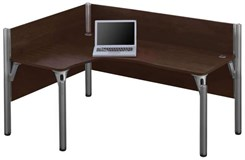 Right L-Shaped Cubicle Workstation