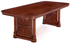 Rue de Lyon 8' Wood Veneer Conference Table
