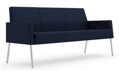 Panel Arm Sofa in Upgrade Fabric or Healthcare Vinyl