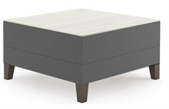 Square Table in Upgrade Fabric or Healthcare Vinyl