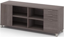 Pro Linear Storage Credenza with 3 drawers