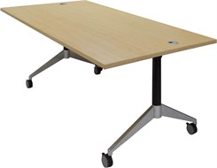 "72"" x 36"" Flip Top Training Table"