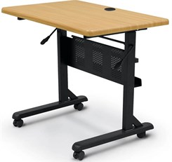 "36""W x 24""D Flip-Top Training Table"