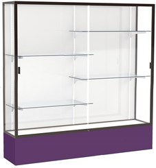 6'W Spirit Trophy Locking Display Case