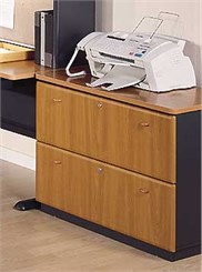 Two Drawer Locking Lateral File