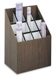 12 Compartment Upright Roll File