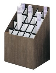 20 Compartment Upright Roll File