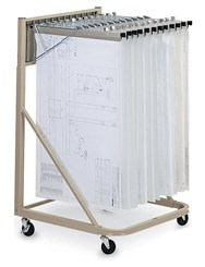 Vertical File Rolling Stands