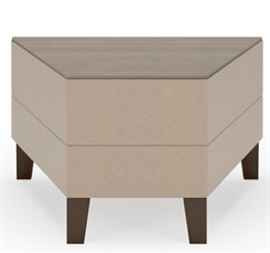 Fremont 30 Degree Wedge Table in Standard Fabric or Vinyl