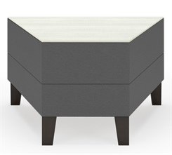 Fremont 30 Degree Wedge Table in Upgrade Fabric or Healthcare Vinyl