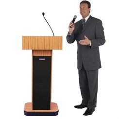 Wireless Sound Column Lectern