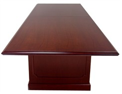 10' Traditional Dark Cherry Veneer Conference Table