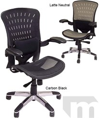 350 Lbs. Capacity ErgoFlex Ergonomic All-Mesh Office Chair